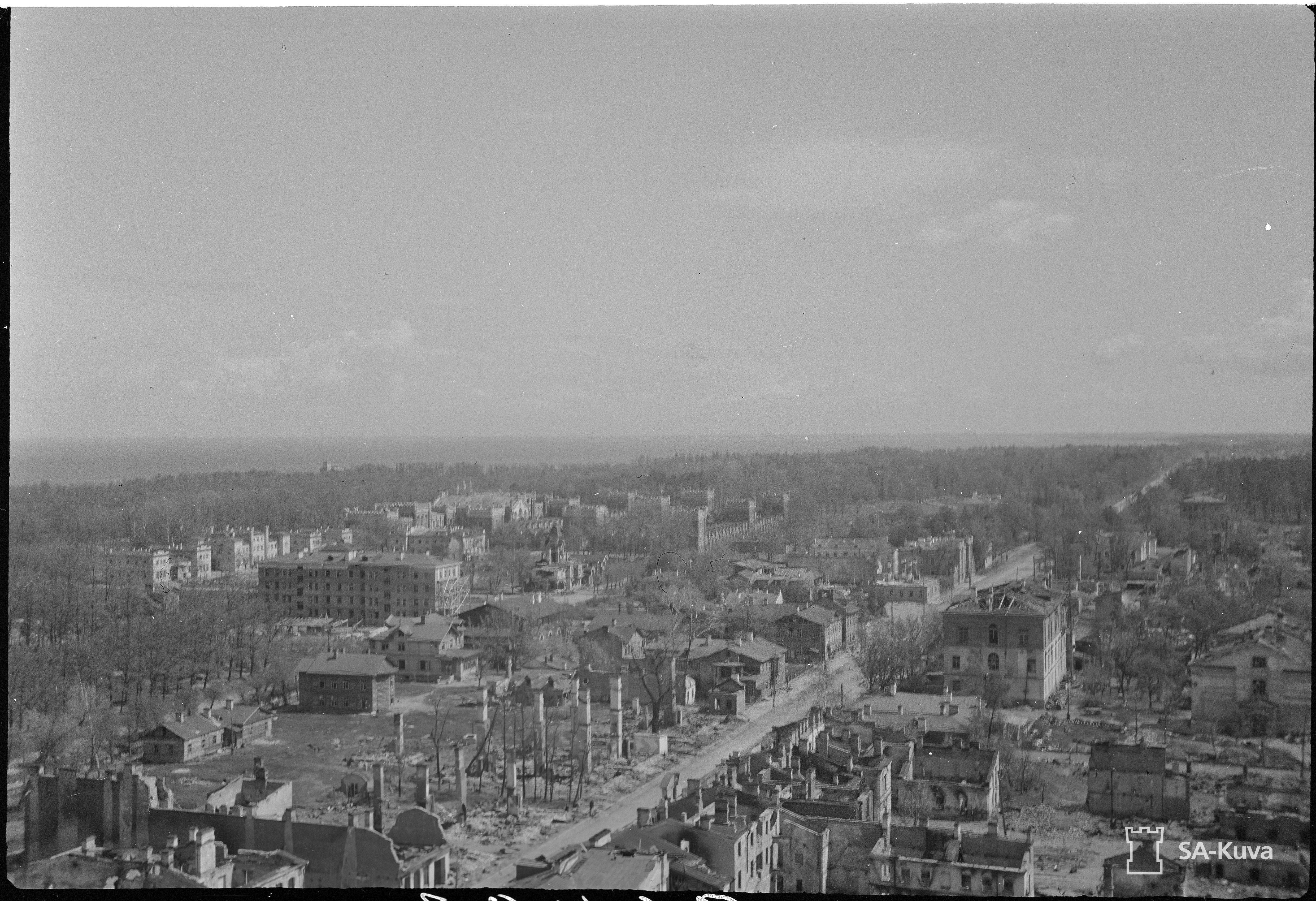 Leningradia piiritettiin vuosina 1941-43
